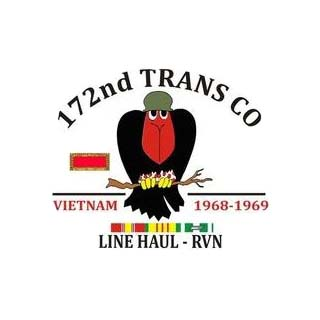 172nd Trans CO. Vietnam 1968-1969. Line Haaul - RVN