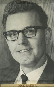 Picture of Dick Backer from an early newspaper ad.