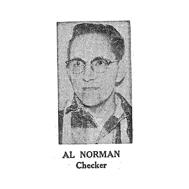 Al Norman Checker