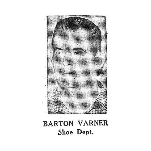 Barton Varner Shoe Department
