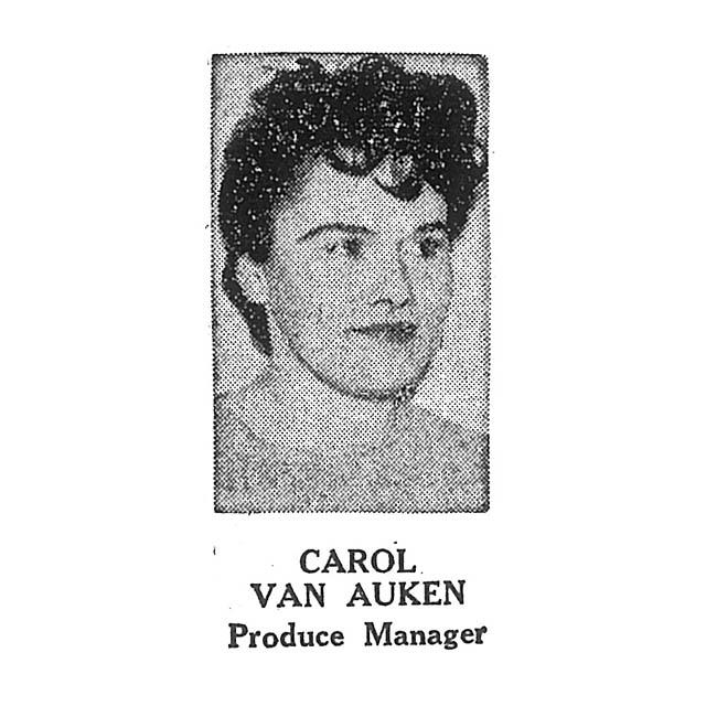 Carol Van Auken Produce Manager