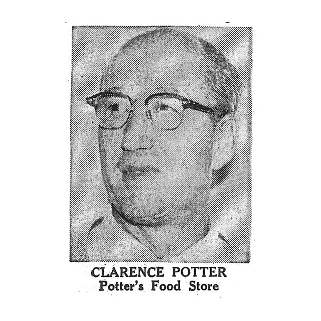 Clarence Potter Potter's Food Store