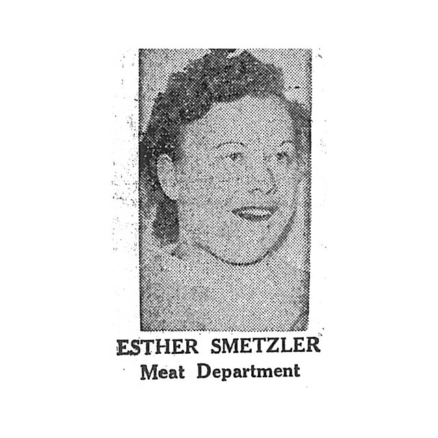 Esther Smetzler Meat Department