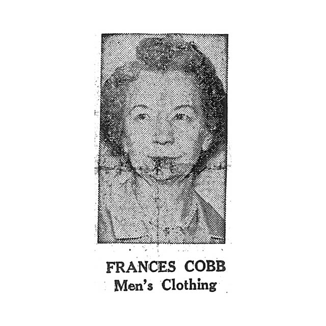 Frances Cobb Men's Clothing