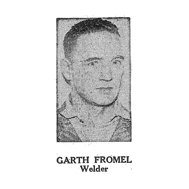 Garth Fromel Welder