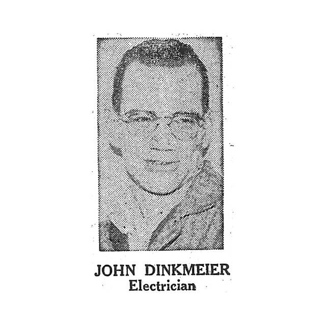 John Dinkmeier Electrician