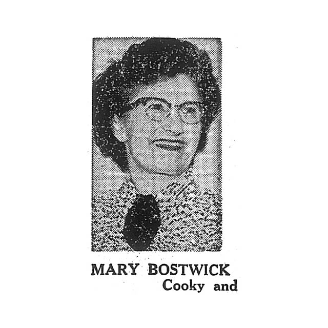 Mary Botwick Cooky