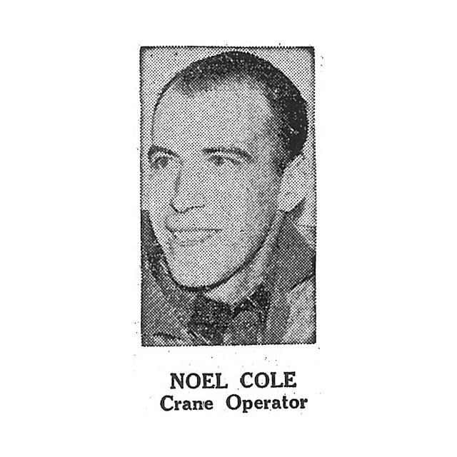 Noel Cole Crane Operator