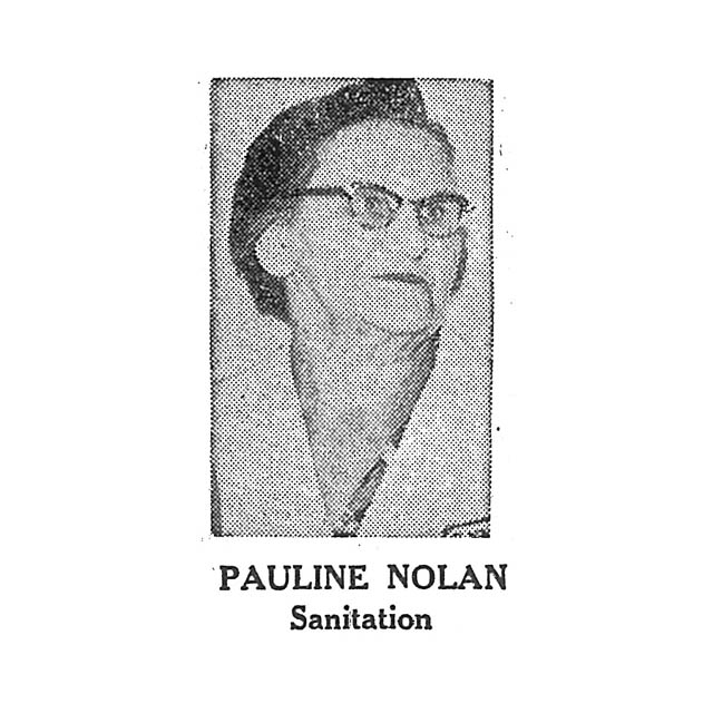 Pauline Nolan Sanitation