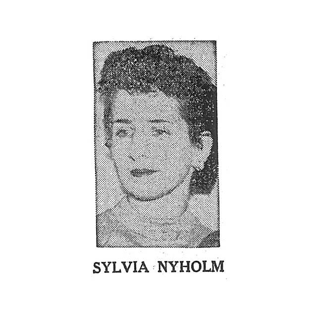 Sylvia Nyholm