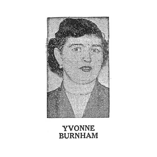 Yvonne Burnham