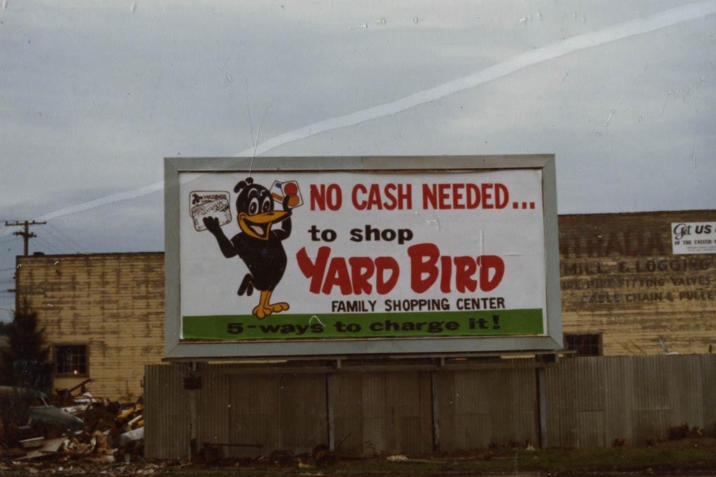 No cash needed...